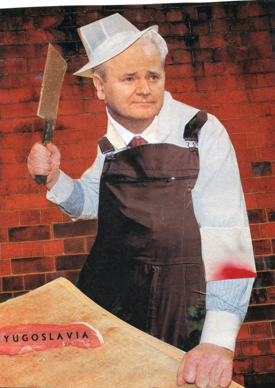 Milosevic as butcher