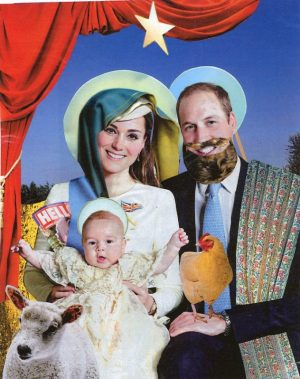 Oliver Dunne & Siobhán McCooey: Pocket Royals: Kate & William Nativity