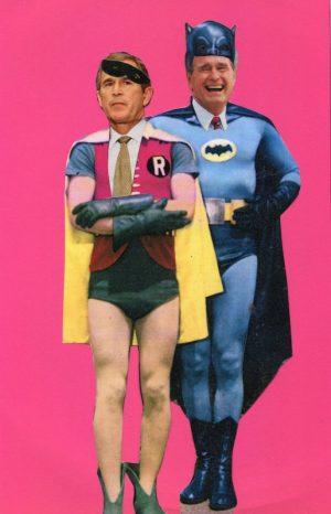 Oliver Dunne & Siobhán McCooey: Pocket Presidents: Batman & Robin