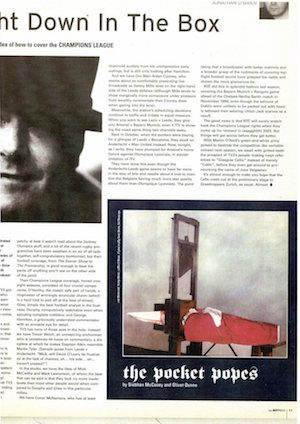 Oliver Dunne & Siobhán McCooey: From Hot Press magazine ('Guillotine')