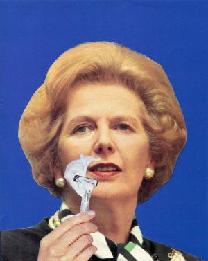 Oliver Dunne & Siobhán McCooey: Pocket Prime Ministers: Thatcher Shaving