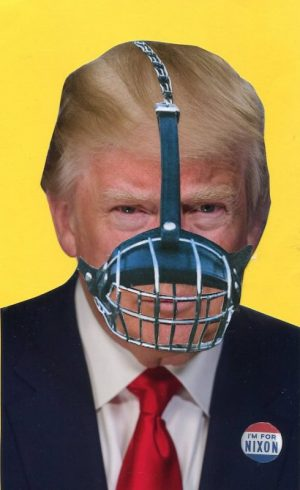 Oliver Dunne & Siobhán McCooey: Pocket Presidents: Muzzled Trump