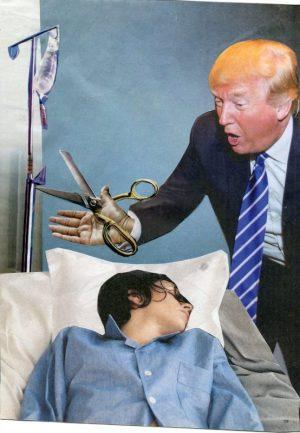 Oliver Dunne & Siobhán McCooey: Pocket President Trump: VII Trump Medicare ('Trumpcare')
