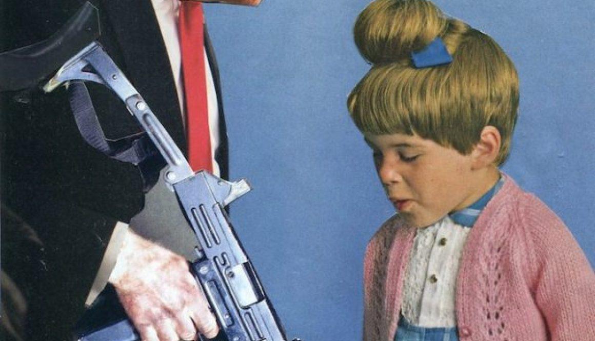 Oliver Dunne & Siobhán McCooey: Pocket President Trump: VI Trump Gun Control ('The Gift')