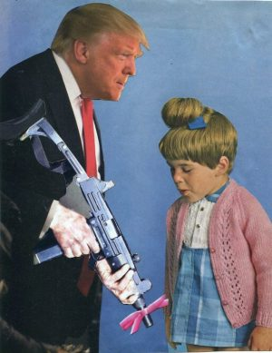 Oliver Dunne & Siobhán McCooey: Pocket President Trump: VI Trump Gun Control ('The Gift')