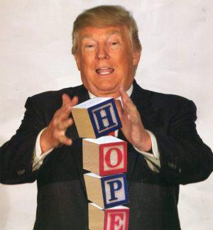 Oliver Dunne & Siobhán McCooey: Pocket President Trump: III Trump Legacy ('Hope')