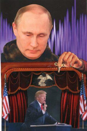 Oliver Dunne & Siobhán McCooey: Pocket President Trump: II Putin and Trump ('Stooge')