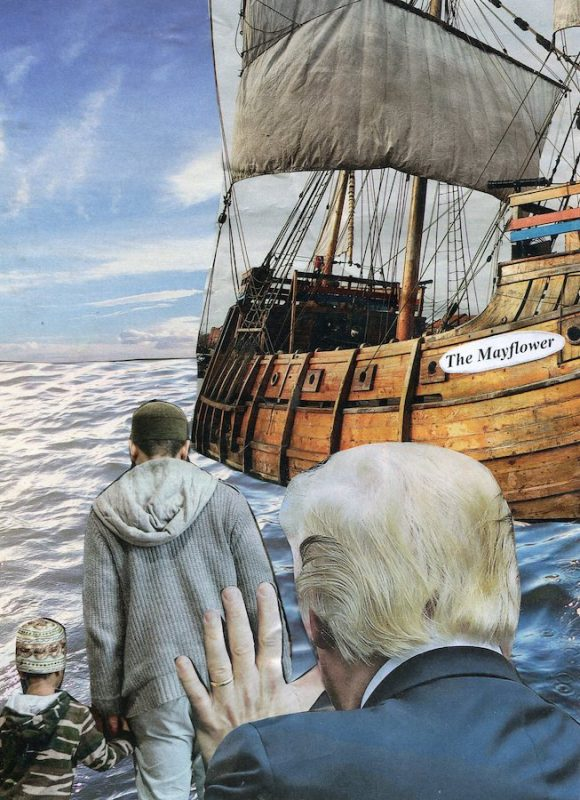 Trump Immigration ('The Mayflower')